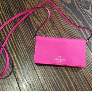 Kate spade cellphone purse